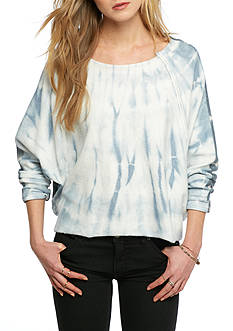 Free People East Meets West Tie Dye Top