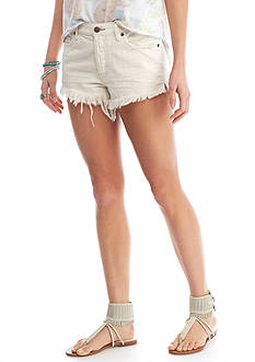 Free People Soft and Relaxed Cut Off Shorts