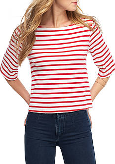 Free People Cannes Stripe Tee