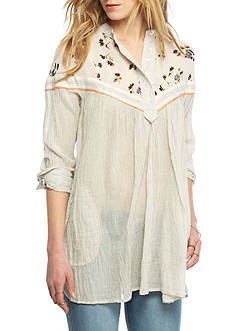 Free People Hearts and Colors Blouse