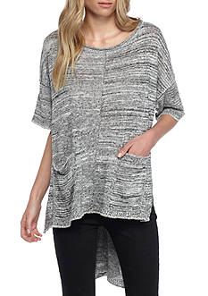Free People Light Bright Short Sleeve Sweater