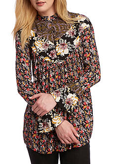Free People Wildflower Printed Tunic