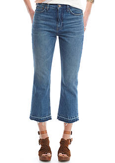 Free People Cropped Bootcut Jeans