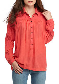 Free People Lovely Day Button Down