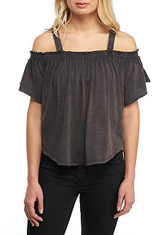 Free People Darling Cold Shoulder Top