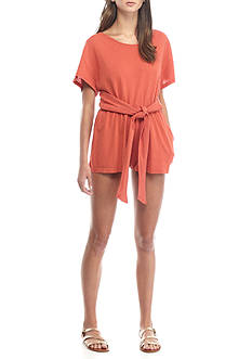 Free People Wrapped Knit Romper