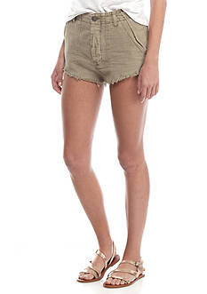 Free People Raw And Patched Standoff Short
