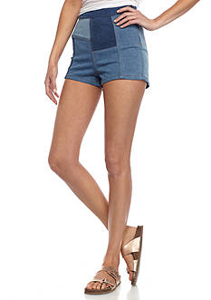 Free People Patched High and Tight Short