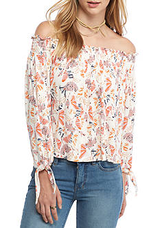 Free People Printed Lexington Tee