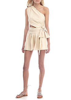 Free People Hot Chip Cutout Romper