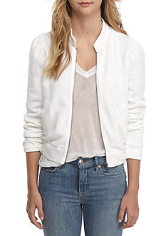 Free People Just For You Zip Thru Jacket