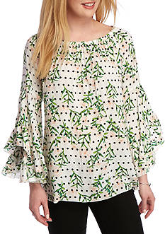 Fever Printed Symphony Top
