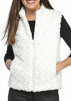 Fever Quilted Two-Tone Reversible Vest