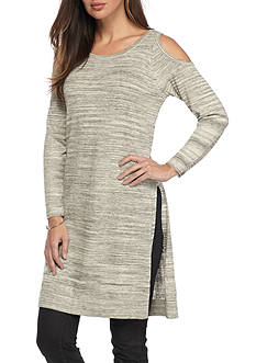 Fever Cold Shoulder Sweater Tunic