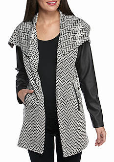 Fever Ponte Sleeve Jacket
