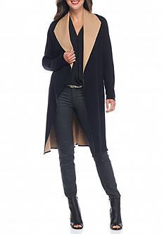 Fever Long Knit Coat Cardigan