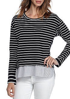 Fever Twice A Stripe Tunic