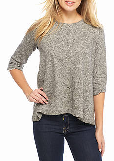Fever Solid French Terry Tunic
