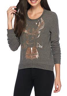 Belle du Jour Hello Deer! Foil Sweatshirt