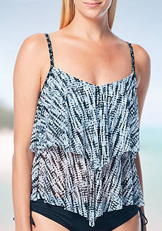 Beach House Laguna Vista Mesh Layered Tankini