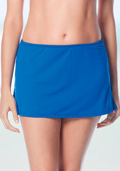 Beach House Solid Skirted Swim Bottoms