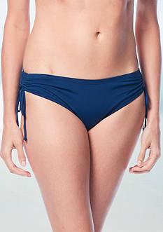 Beach House Solid Adjustable Side Tie Swim Bottom