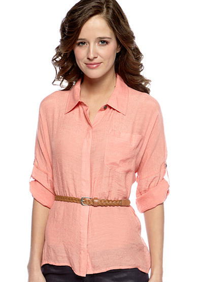 Dolled Up Belted Tunic