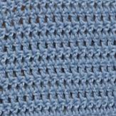 Crop Tops: Blue Demanding Crochet Sweater Crop Top