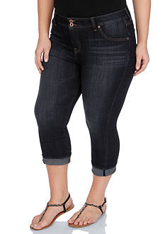 Lucky Brand Plus Size Emma Crop Jeans