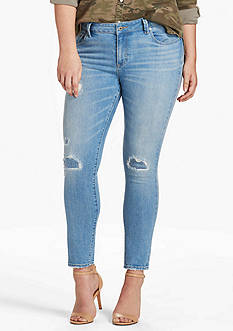 Lucky Brand Plus Size Ginger Skinny Jean