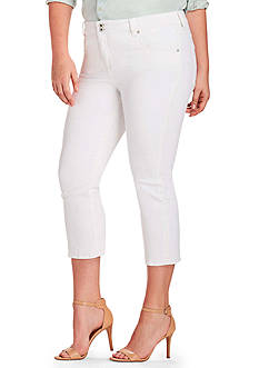 Lucky Brand Plus Size Emma Cropped Jeans