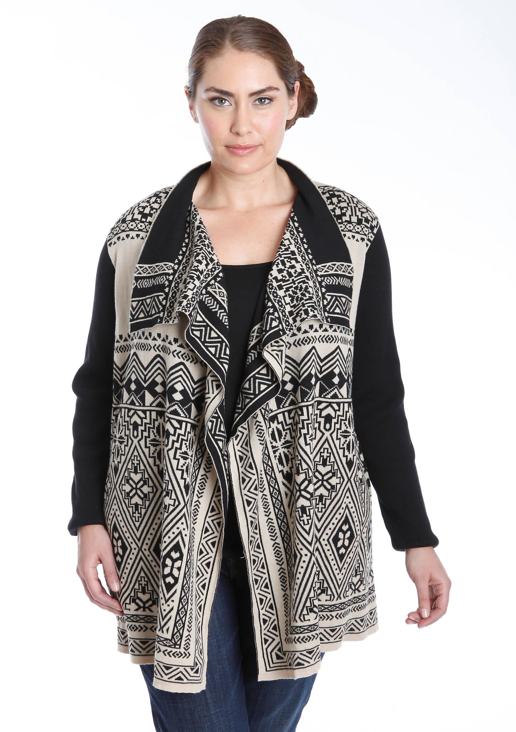 Lucky Brand Plus Size Waterfall Cardigan | belk