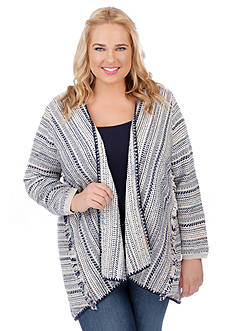 Lucky Brand Plus Size Pottery Cardigan