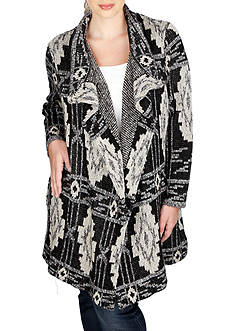 Lucky Brand Plus Size Deco Cardigan