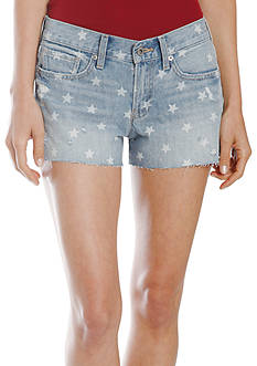 Lucky Brand Americana Cut Off Shorts
