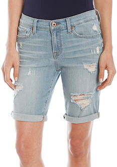 Lucky Brand Destructed Jean Bermuda Short