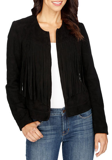Lucky Brand Fringe No Close Jacket