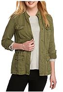 Lucky Brand Soft Military Jacket