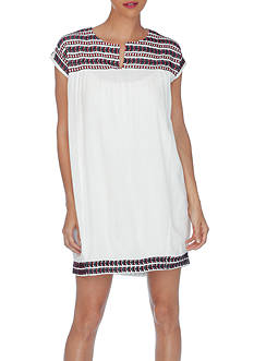 Lucky Brand Embroidered Dress