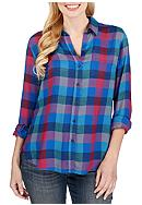 Lucky Brand Back Overlay Shirt
