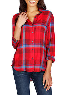 Lucky Brand Side Button Top