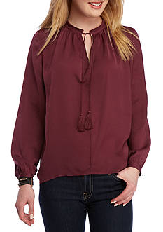 Lucky Brand Key Item Peasant Top