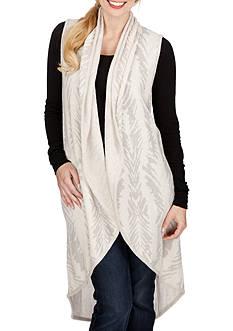 Lucky Brand Jacquard Sweater Vest