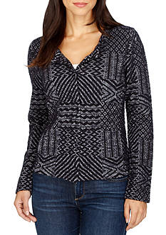 Lucky Brand Jacquard Sweater