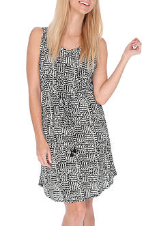 Lucky Brand Printed Dress