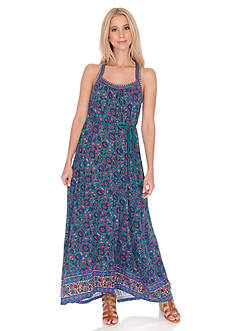Lucky Brand Circle Embroidery Dress