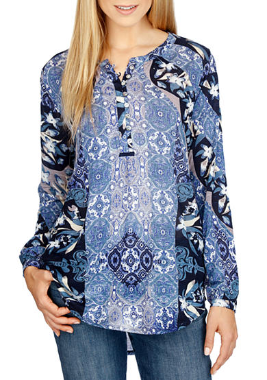 Lucky Brand Moroccan Mix Top