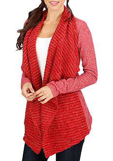 Lucky Brand Mixed Wrap Sweater