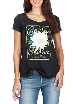 Lucky Brand Cactus Flower Tee