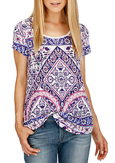 Lucky Brand Placed Rug Tee